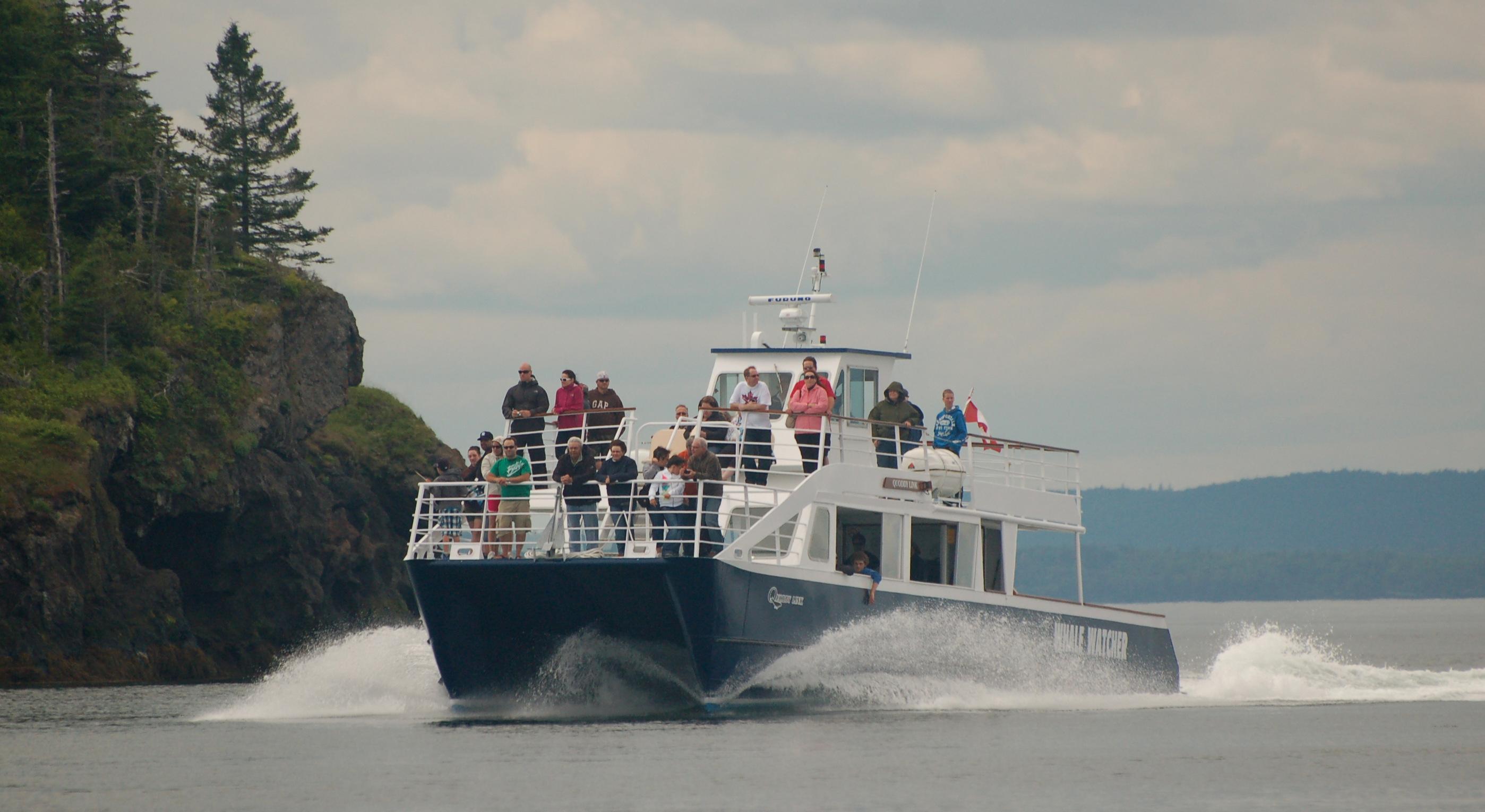 Bay of Fundy- quoddy boat